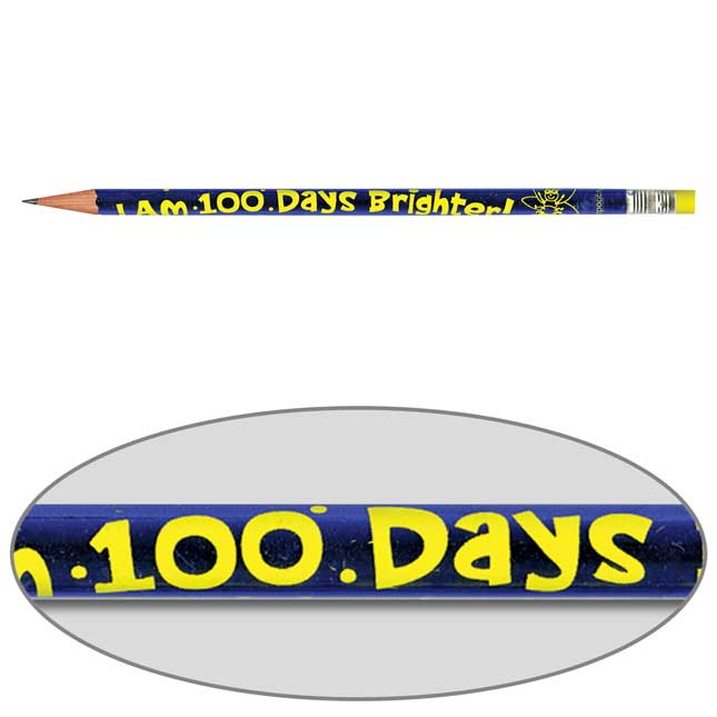 I Am 100 Days Brighter Pencils - Set Of 144
