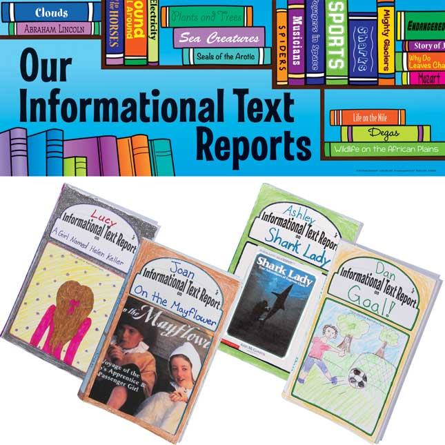 Ready-To-Decorate® 3-D Informational Text Report Bulletin Board Kit