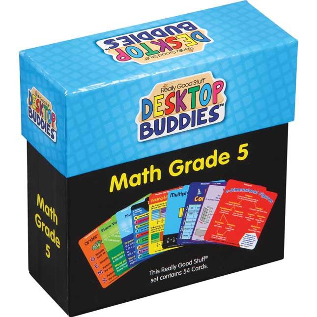 Desktop Buddies™ - Math Grade 5