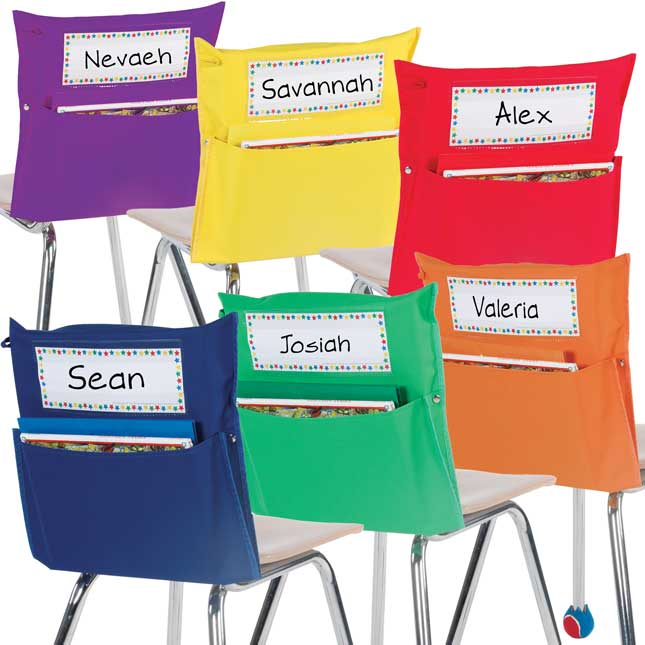 Store More® Grouping Chair Pockets - 6 Colors