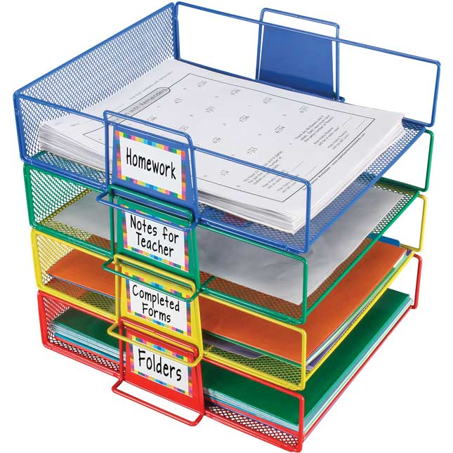 Stackable Letter-Size Wire Rack™
