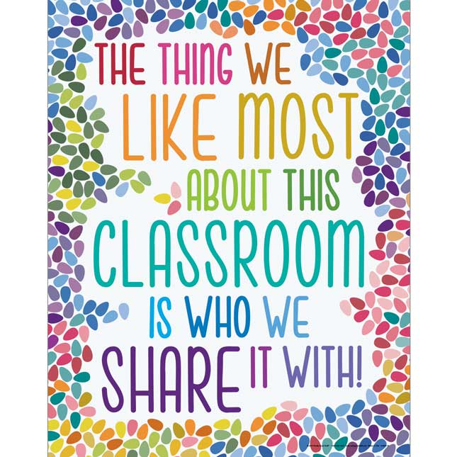 The Thing We Like Most About This Classroom Bulletin Board Kit
