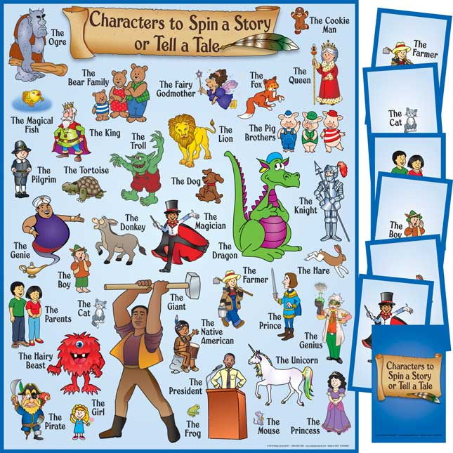 Characters To Spin A Story Or Tell A Tale Kit