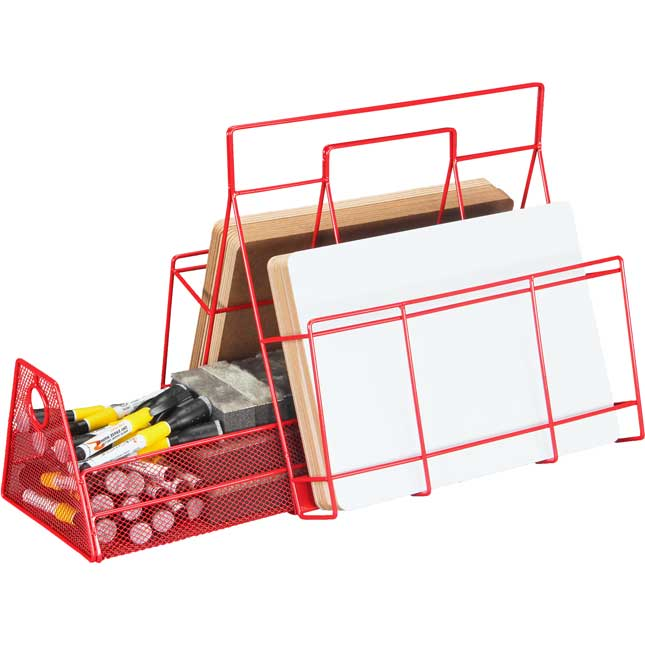 Dry Erase Board And Supplies Storage