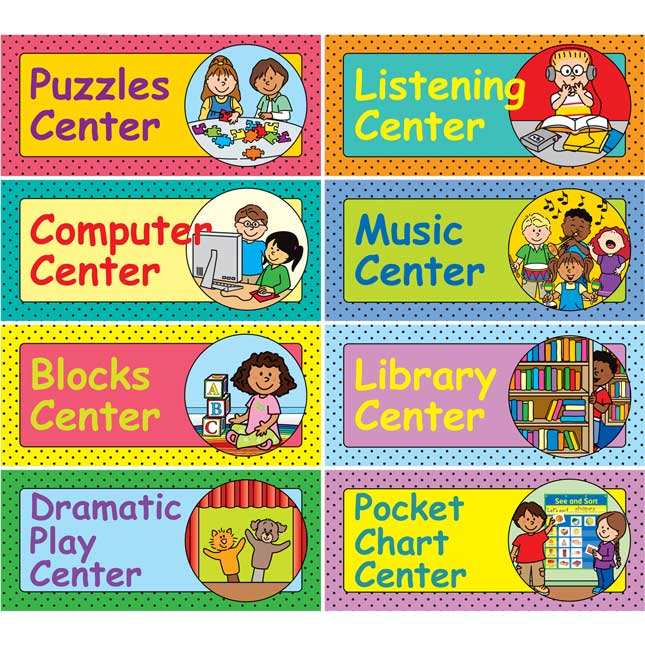 Early Elementary Centers EZ-Tuck Clip 'N' Track Pocket Chart™ Card Refill