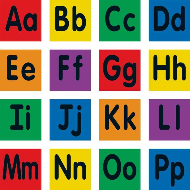Carpet Mark-Its™ - Alphabet