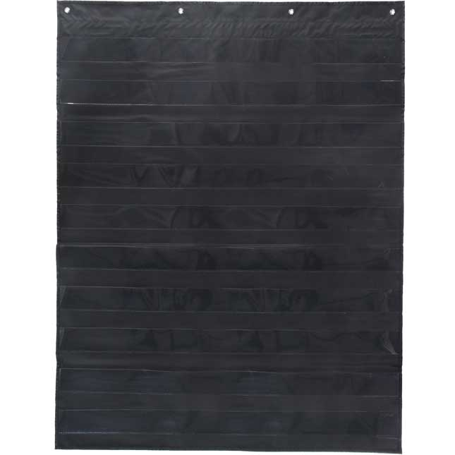 Everyday Pocket Chart - Black