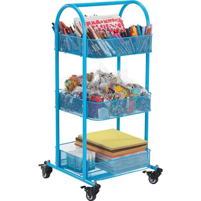 Mobile Supplies Cart