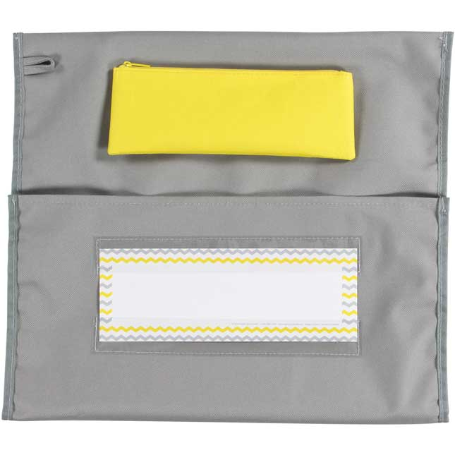 Store More® Deluxe Chair Pockets - Gray