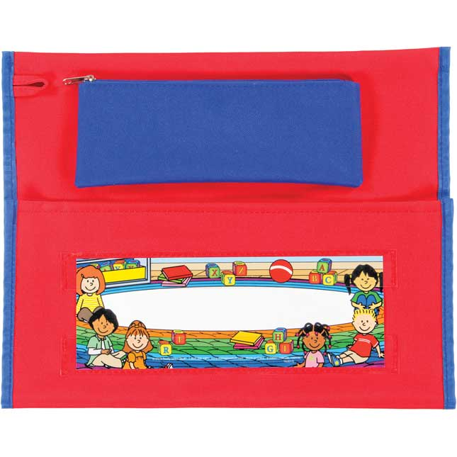 Store More® Deluxe Chair Pockets - Early Childhood - Red - Set Of 36