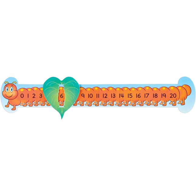 Slide And Learn™ Counting Caterpillars - Numbers 0-20