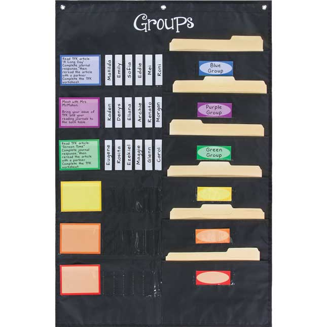 Small Group Management Pocket Chart™ Refill