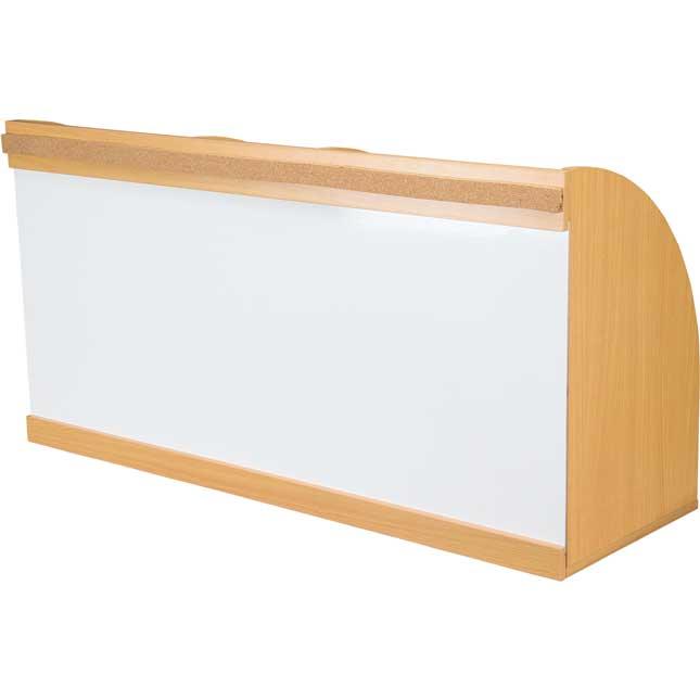 Teacher's Desk Organizer With Dry Erase Board