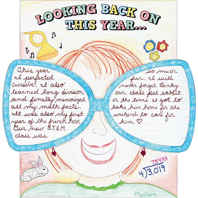 Ready-To-Decorate® Looking Back On This Year Posters