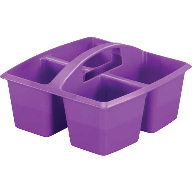 Four Equal Compartment Caddies - Set Of 6