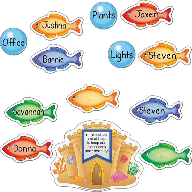 Job Assignment Magnets - Under The Sea