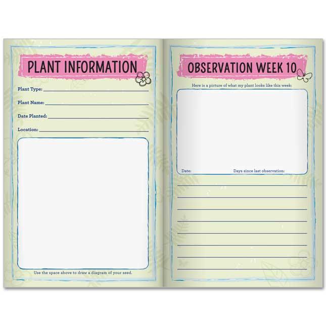 Plant Observation Journals And Wonder Soil Kit