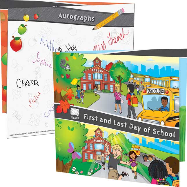 First And Last Day Of School Keepsake Frames