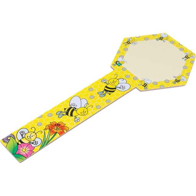 Dry Erase Paddles - Bees