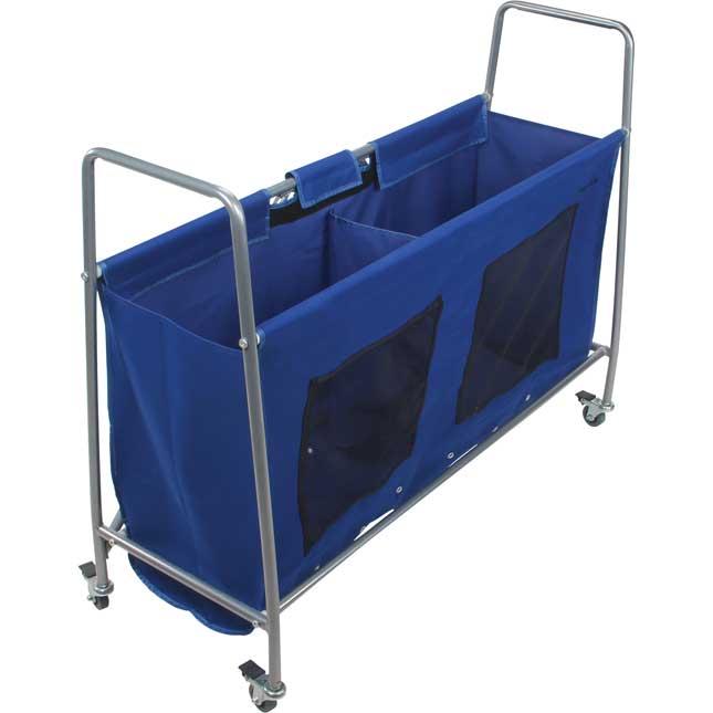 Mobile Storage Rack With Utility Bag