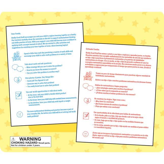 Family Engagement Math Skills - Fractions