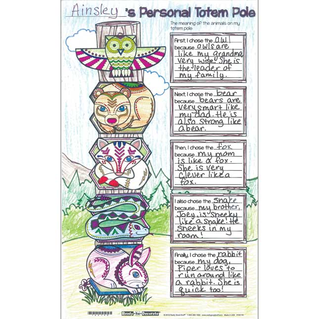 Ready-To-Decorate® Totem Pole Posters