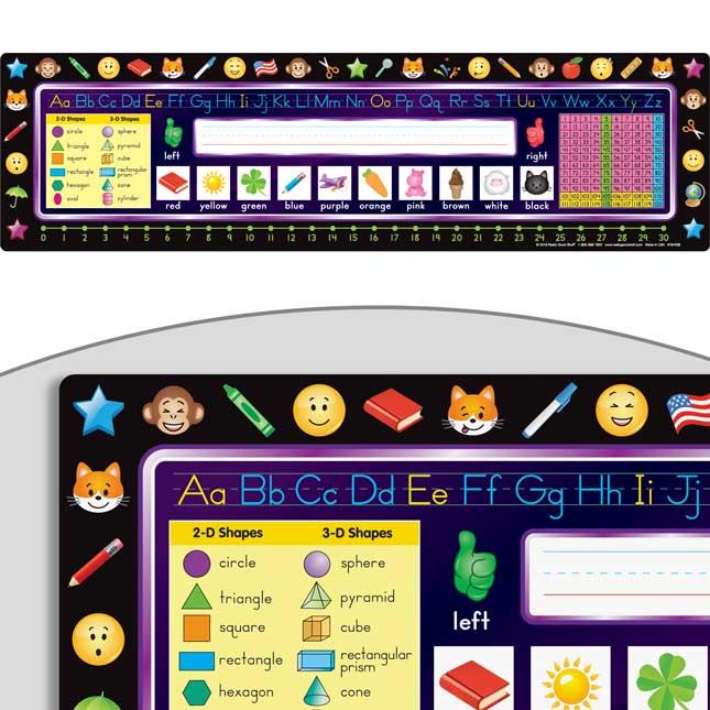 Emoji Self-Adhesive Vinyl Desktop Helpers™ - Primary
