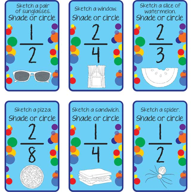 Sketch-A-Fraction Cards