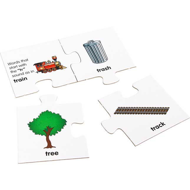 Initial And Final Blends And Digraphs Puzzles Set