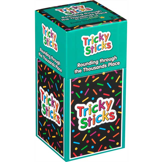 Tricky Sticks™ - Rounding Through The Thousands Place