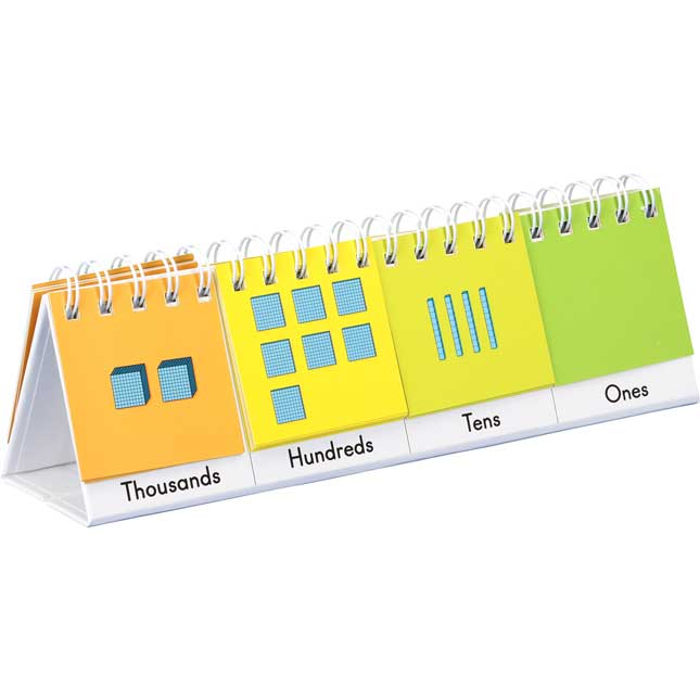 Mini Primary Place Value Flip Charts