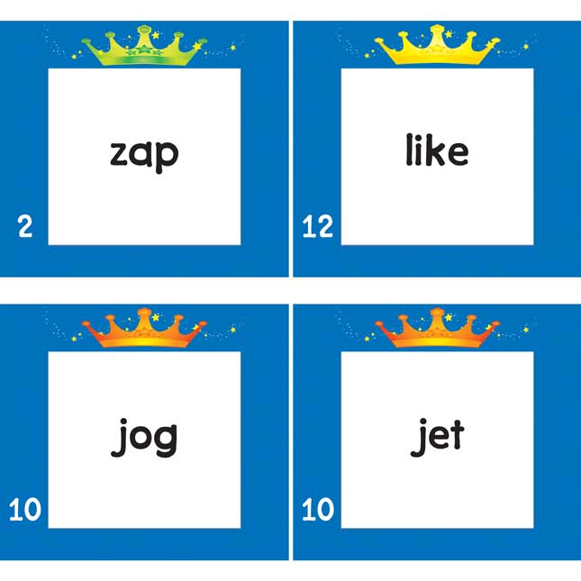 Ask Me, Tell Me Crowns Phonics Kit
