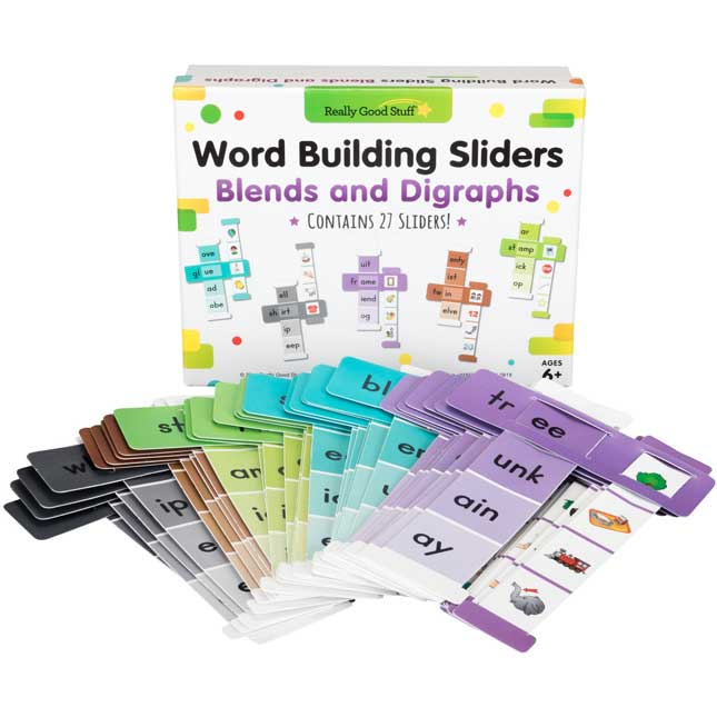 Word Building Sliders: Blends and Digraphs
