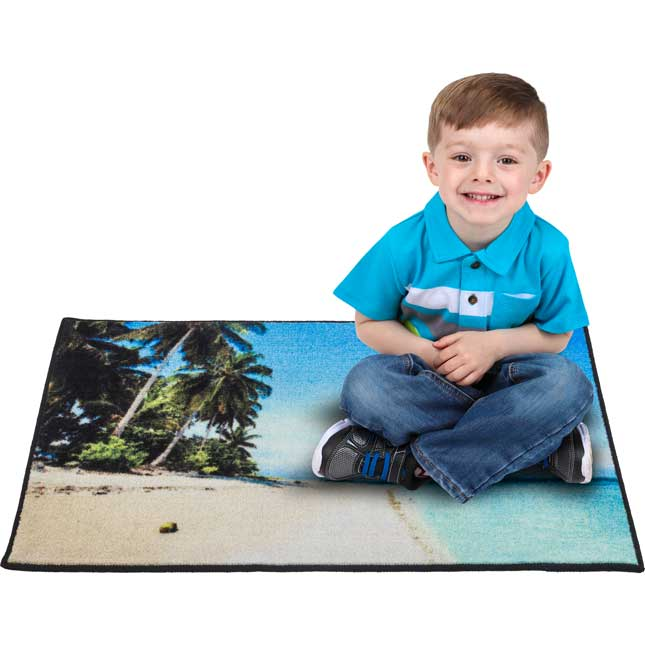My Happy Place Rug™ - The Beach