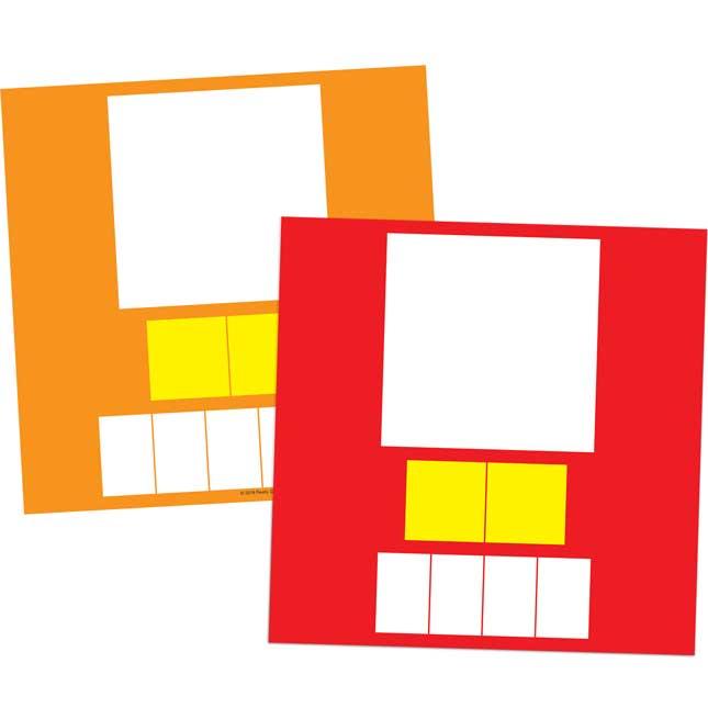 ConstrucciA³n de palabras Tapetes, tarjetas y letras (Spanish Word Building Mats, Cards, And Letter Tiles)