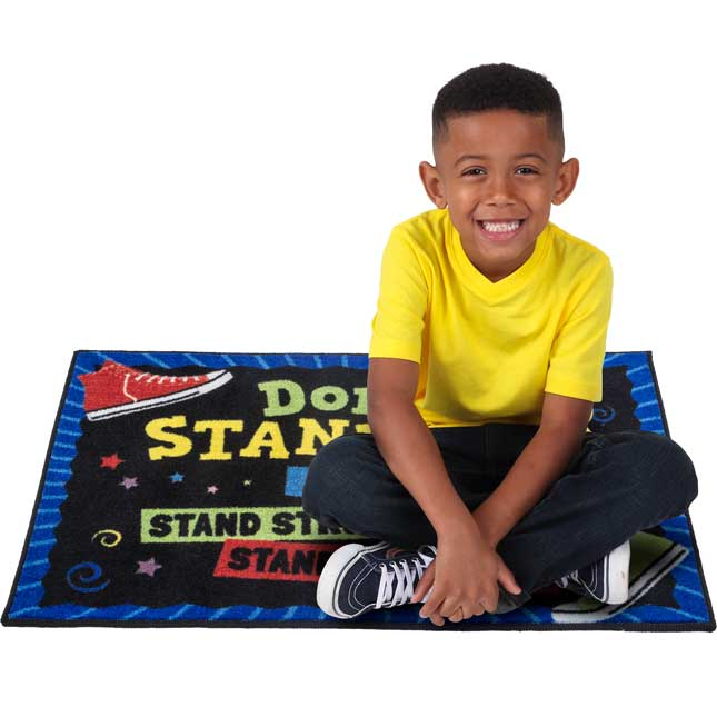 Don't Stand By, Stand Up! Rug