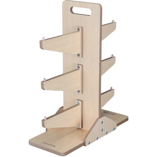 Four-Compartment Caddies And Stand - Set Of 6