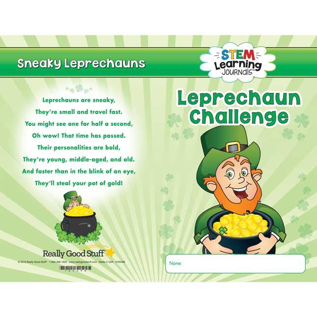 STEM Learning Journals™ - Leprechaun S.T.E.M. Challenge
