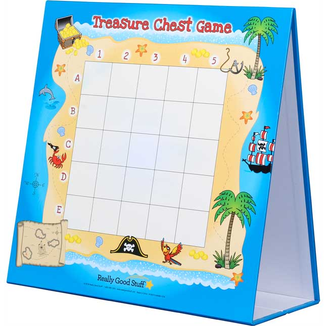 Treasure Chest Multiplication Game