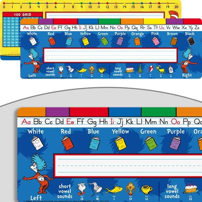 Dr. Seuss™ Nameplates