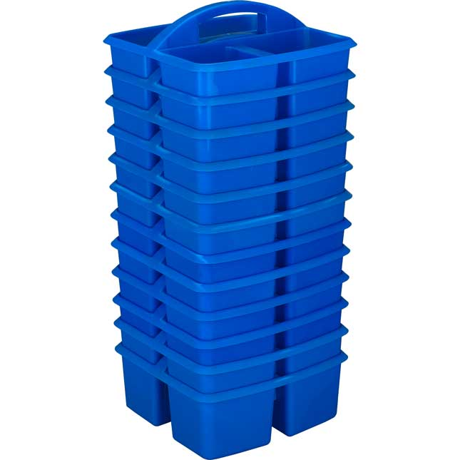 3-Compartment Caddies - Set Of 12