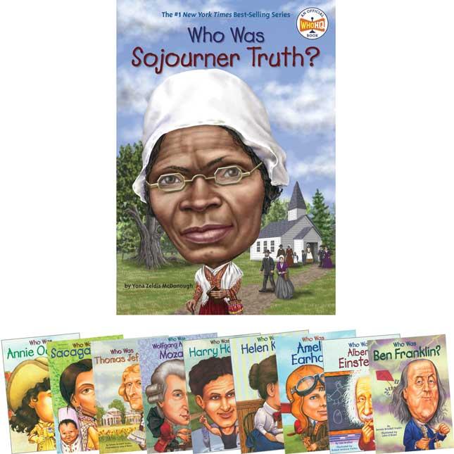 Who Was? Books Set 1