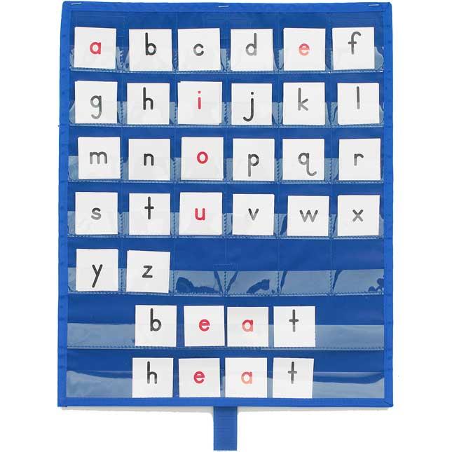 Really Good Stuff® Make-A-Word Desktop Pocket Chart™