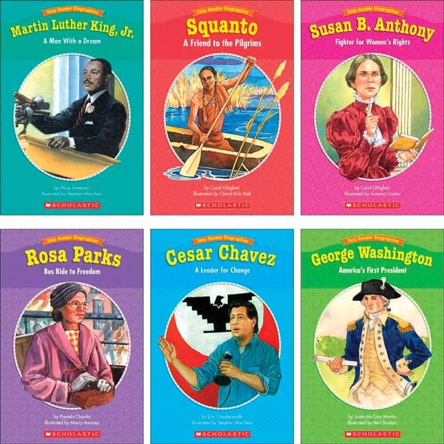 Easy Reader Biographies Set