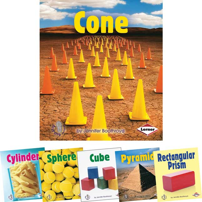 First Step Nonfiction: Solid Shapes - 6-Book Set