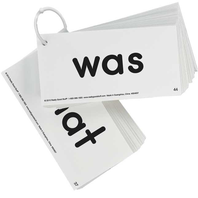 EZread™ Dolch Primer Sight Word Flash Cards