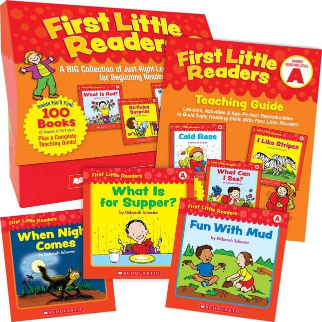 First Little Readers Book Set: Level A
