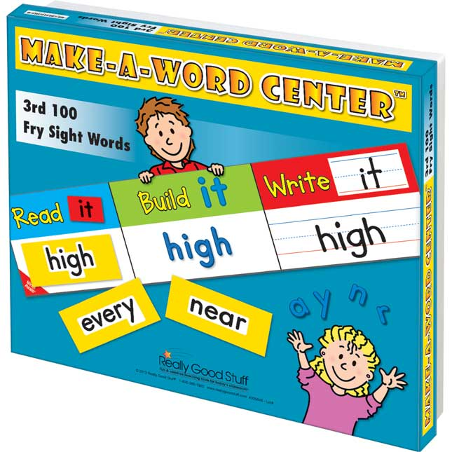 Make-A-Word Center™: 3rd 100 Fry Sight Words