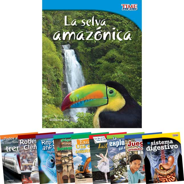 TIME For Kids®: Nonfiction Readers Grade 3, Set 2 - Spanish