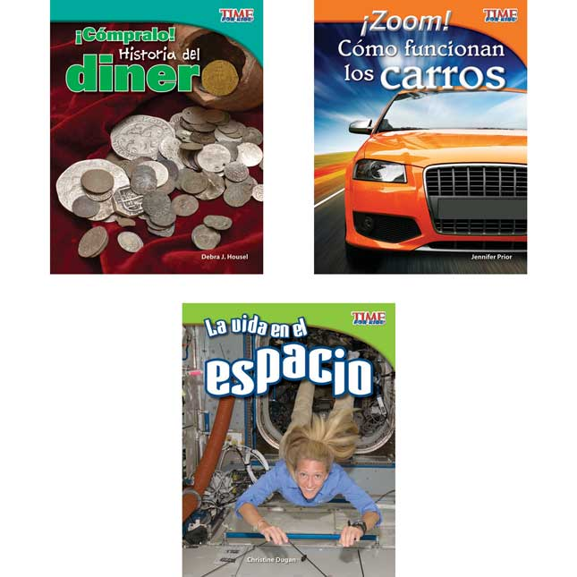 Time For Kids®: Nonfiction Readers Grade 3, Set 3 - Spanish
